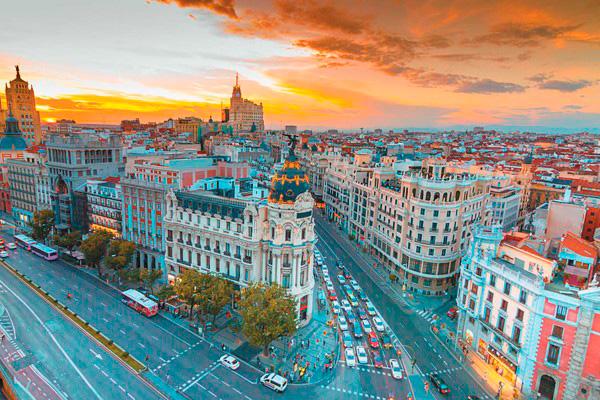 Многие дома в Мадриде – настоящие шедевры архитектуры