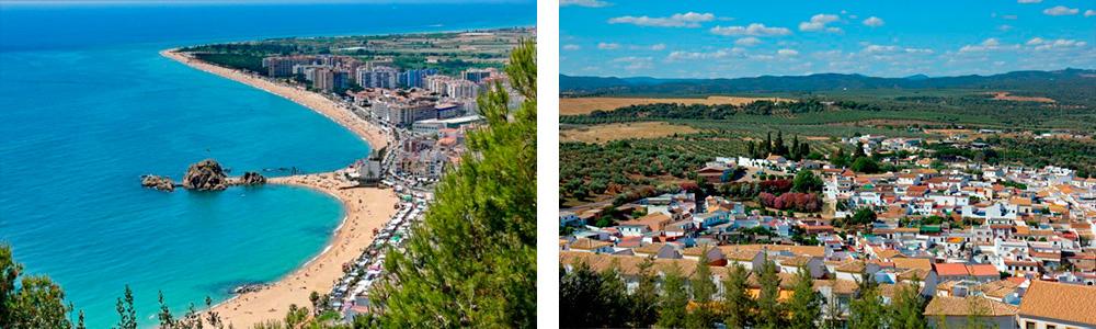 Земельная недвижимость в регионах Испании